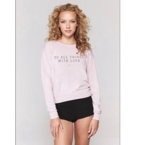 Spiritual Gangster Do All Things W/ Love Pullover